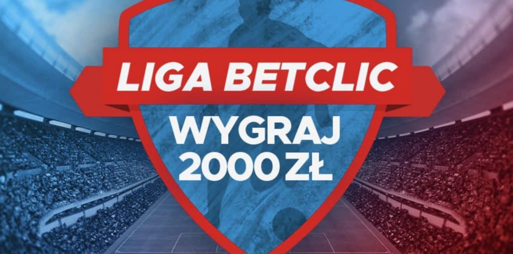2000 PLN w lidze typerów Betclic Polska!