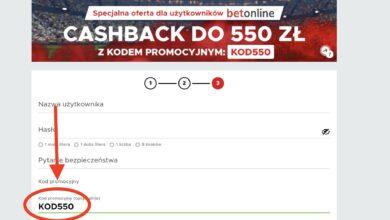 """Photo of Bonus VIP w Betclic Polska. 550 PLN tylko u nas! Kod promocyjny """"KOD550""""!"""