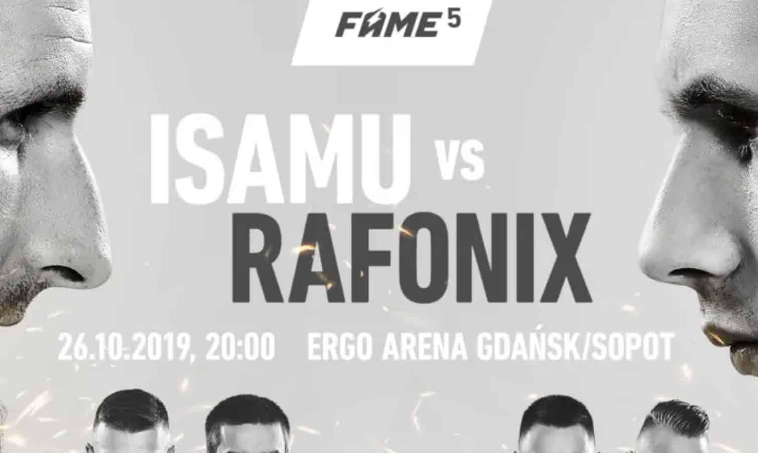 Photo of FAME MMA 5. Obstawianie z bonusem bez depozytu!