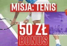 Betclic i Misja: Tenis - bonus 50 PLN dla fanów obstawiania pojedynków na kortach!