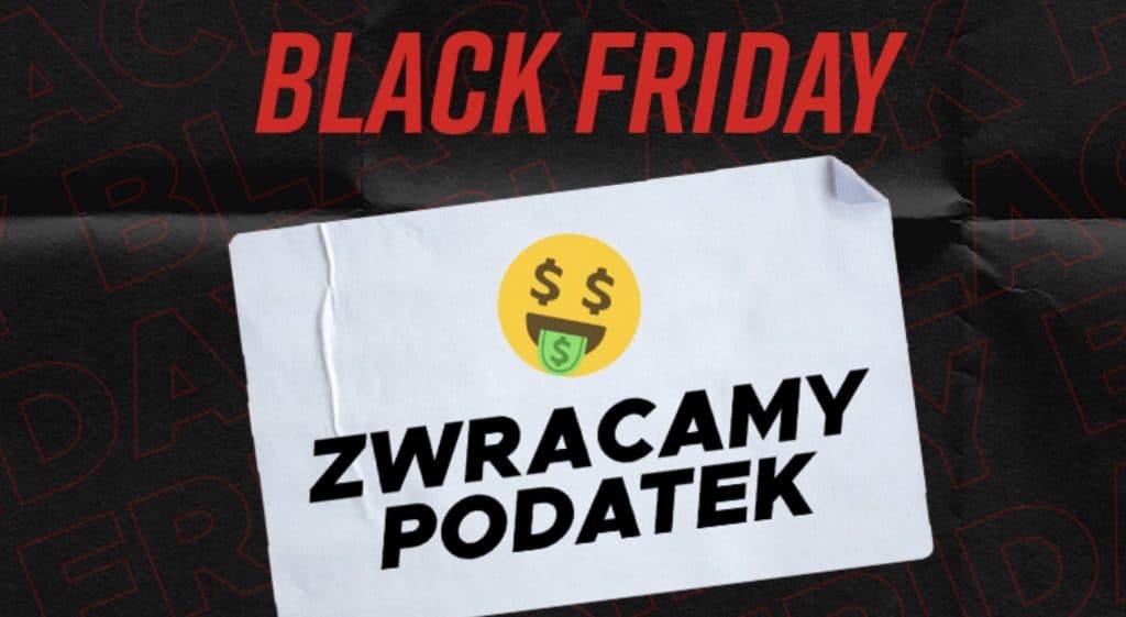 Zwrot podatku w Betclic na Black Friday!