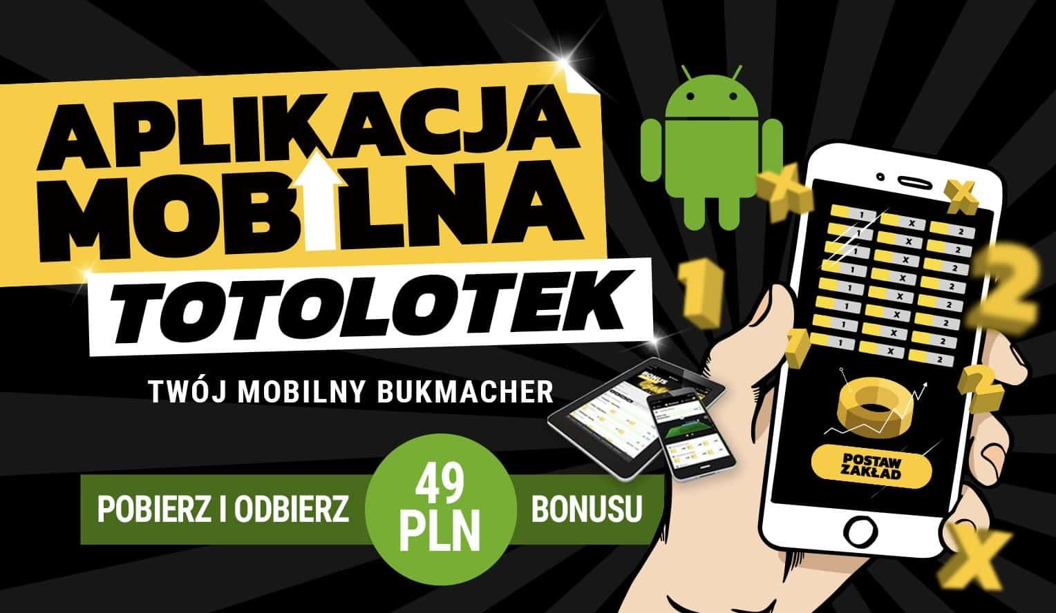 Photo of Totolotek aplikacja mobilna na telefon – Android apk, iOS. Oferta, opinie, bonusy