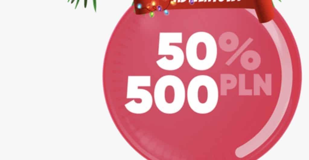 Forbet Kalendarz Adwentowy (04.12.19). 50% bonusu do 500 PLN dla każdego typera!